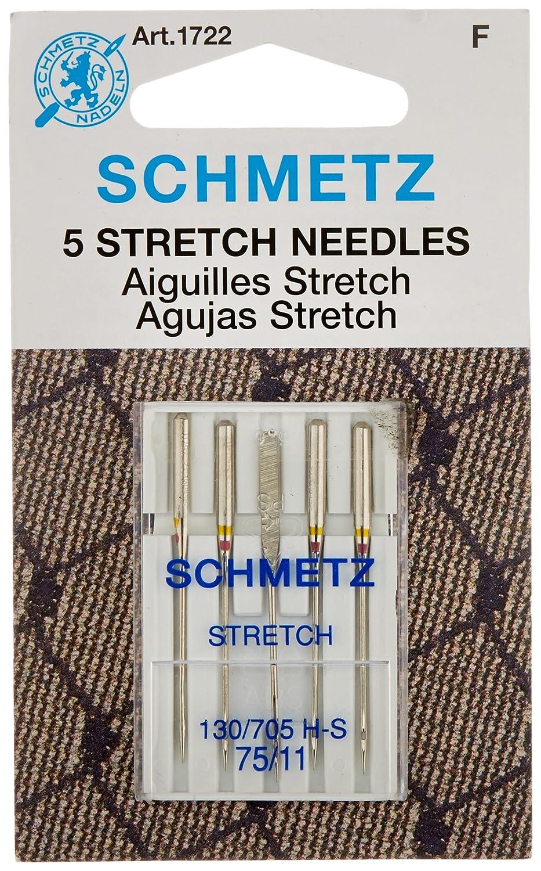 Stretch Machine Needles-Size 11/75 5/Pkg Notions - In Network 70163
