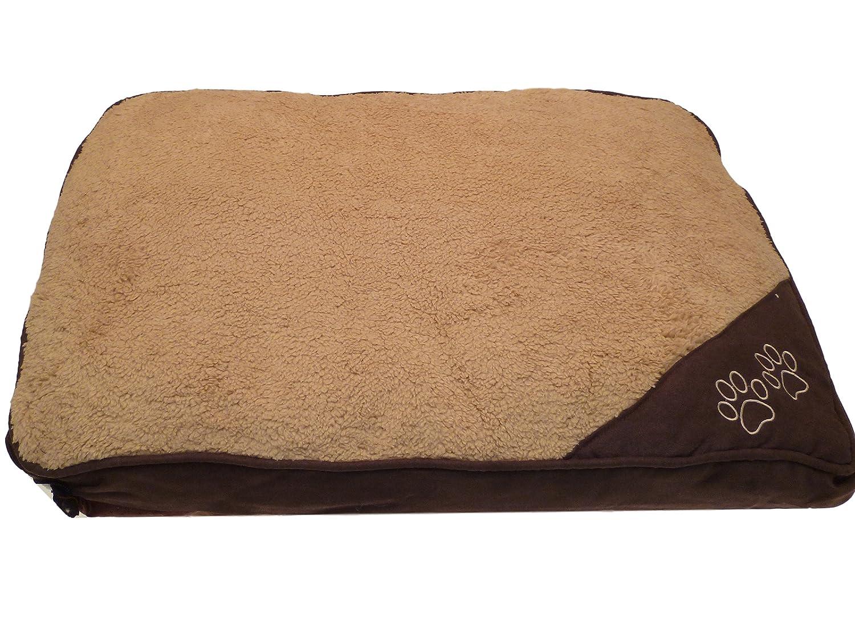 Cama para perros y gatos, antideslizante, lavable, desenfundable e impermeable: Amazon.es: Hogar
