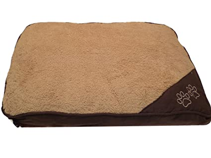 Cama para perros y gatos, antideslizante, lavable, desenfundable e impermeable