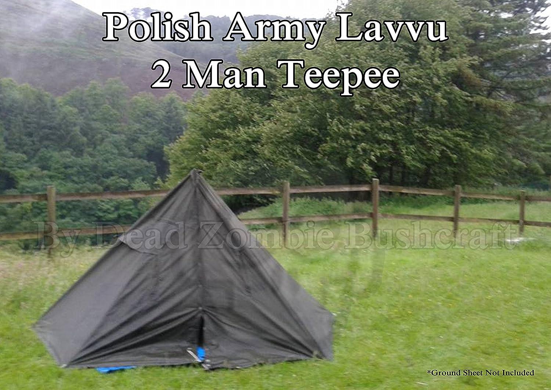 DZBushcraft – ejército polaco lona Teepee/tienda Lavvu – 2 ...