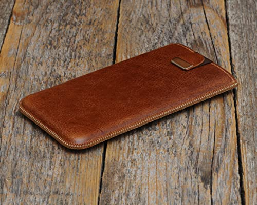 Samsung Leather Cover Cover Samsung Galaxy S20 Ultra 5G Marrone
