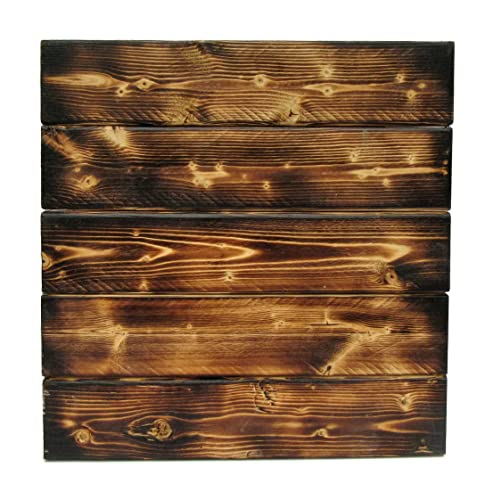 Wood Sign Blank Rustic Hand Torched DIY Pallet Wedding Signs
