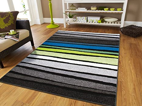 New Fashion Luxury Blue 5x7 Rugs For Living Room Under 50 Blue White Grey  Black Green