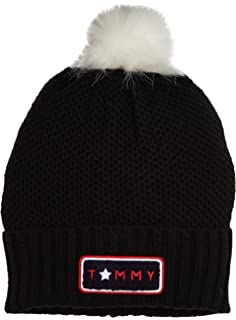 Womens Luca Cable Slouchy Beanie Tommy Hilfiger