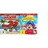 Feivel der Mauswanderer - Box 1 - 4 und Alvin und die Chipmunks - Teil 1-3 [3 DVDs]