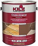 KILZ Over Armor Smooth Wood/Concrete Coating, 1 gallon, Chocolate Brown