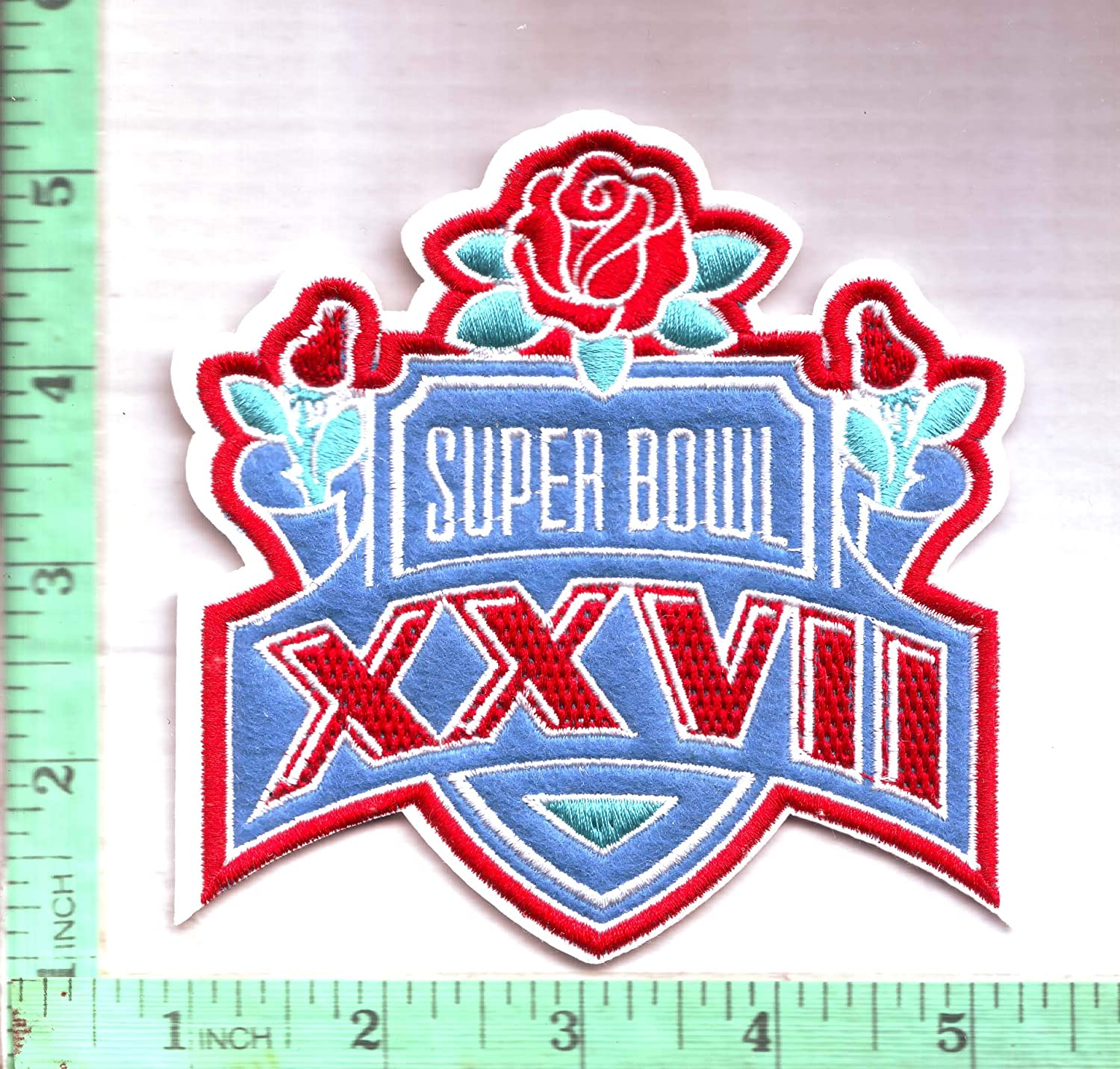 1993 Super Bowl XXVII Patch Superbowl 27 Embroidered Championship SB Iron On 4