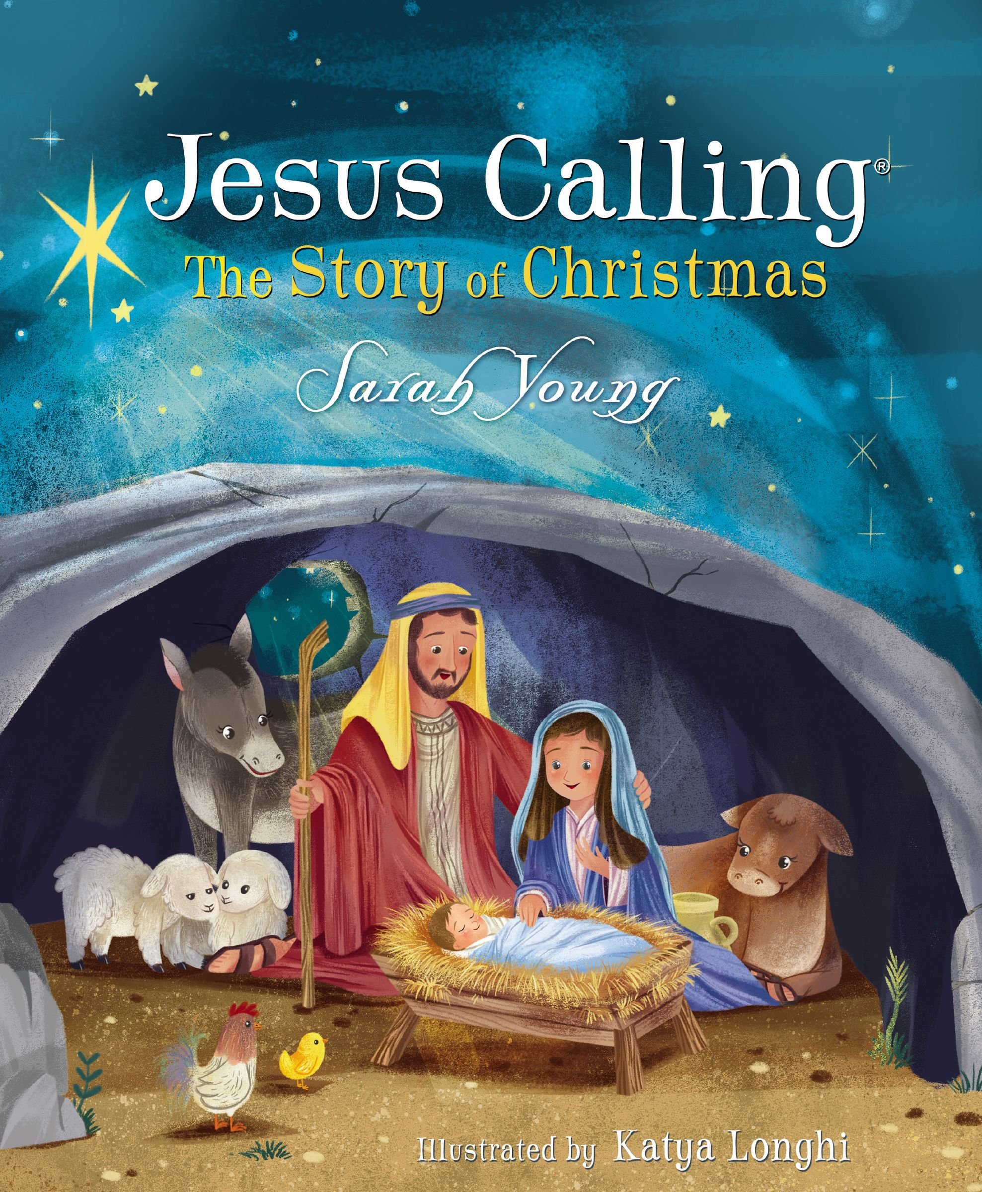 Jesus Calling: The Story of Christmas (picture book): Sarah Young ...