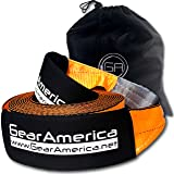 """GearAmerica Recovery Tow Strap 4"""" x 30' 