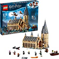 LEGO Harry Potter Hogwarts Great Hall 75954 Building Kit and Magic Castle Toy, Fantasy Creatures, Hermione Granger…