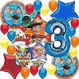 Amazon.com: Toy Story - Paquete de 4 accesorios para fiestas ...