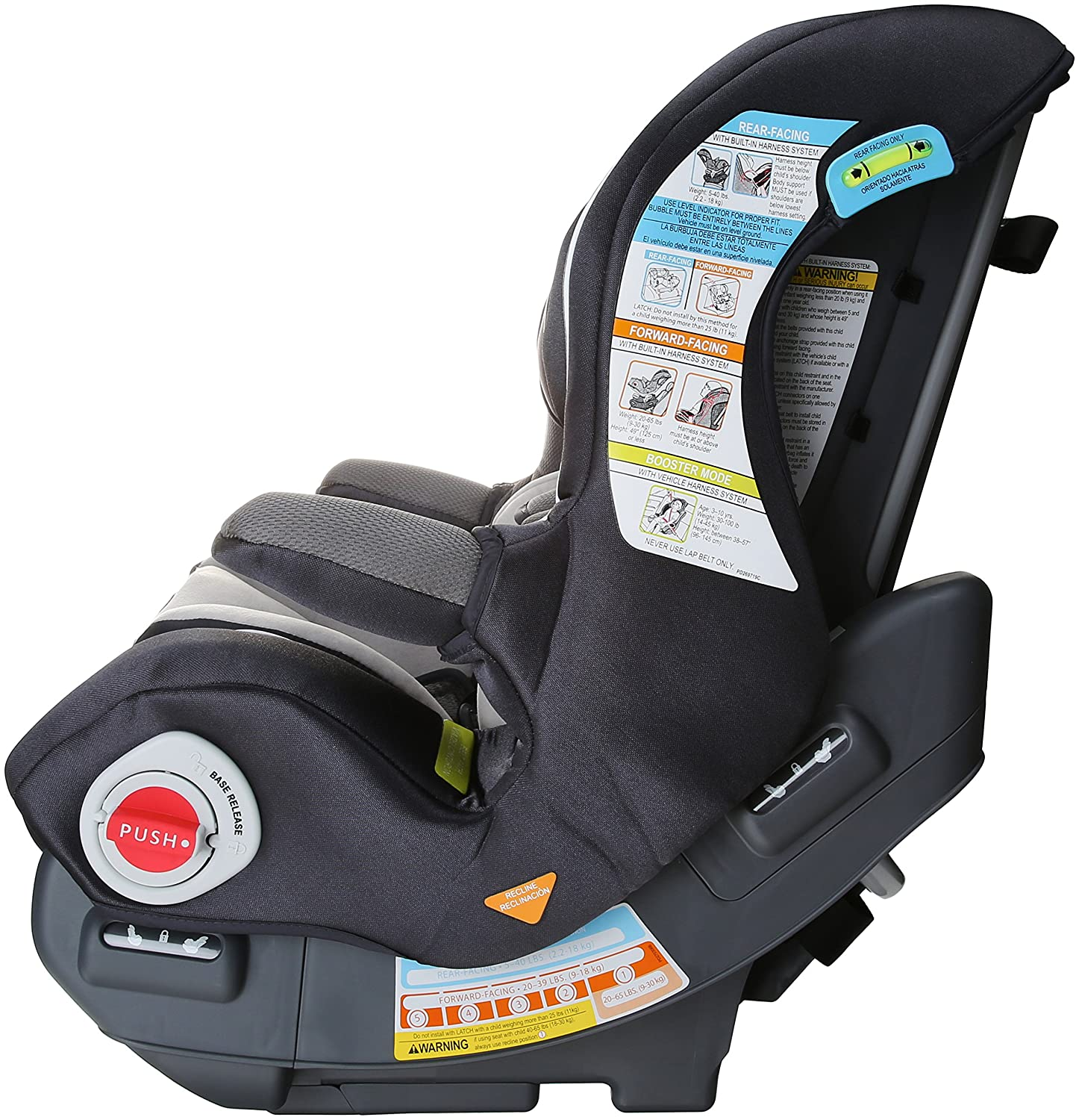 Amazon.com : Graco Smart Seat All-in-One Convertible Car Seat ...