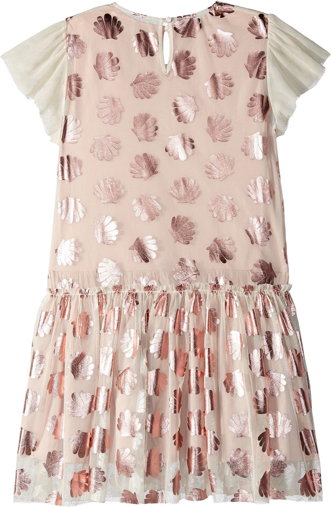 Stella McCartney Kids Baby Girl's Bellie Tulle Dress w/Metallic Seashells (Toddler/Little Kids/Big Kids) Pink 4T by Stella McCartney Kids (Image #2)