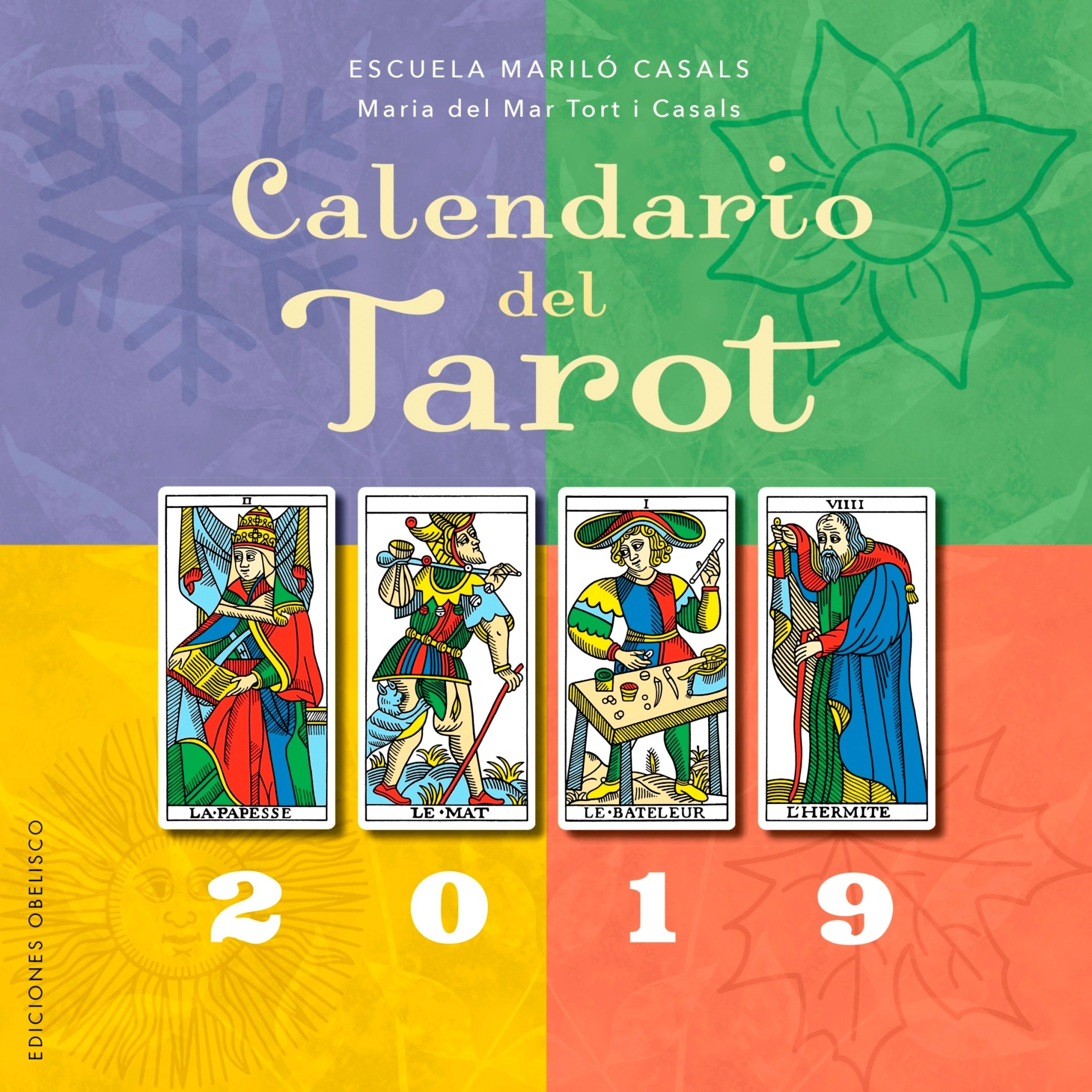 Calendario del tarot 2019 (Spanish Edition): Maria del Mar ...