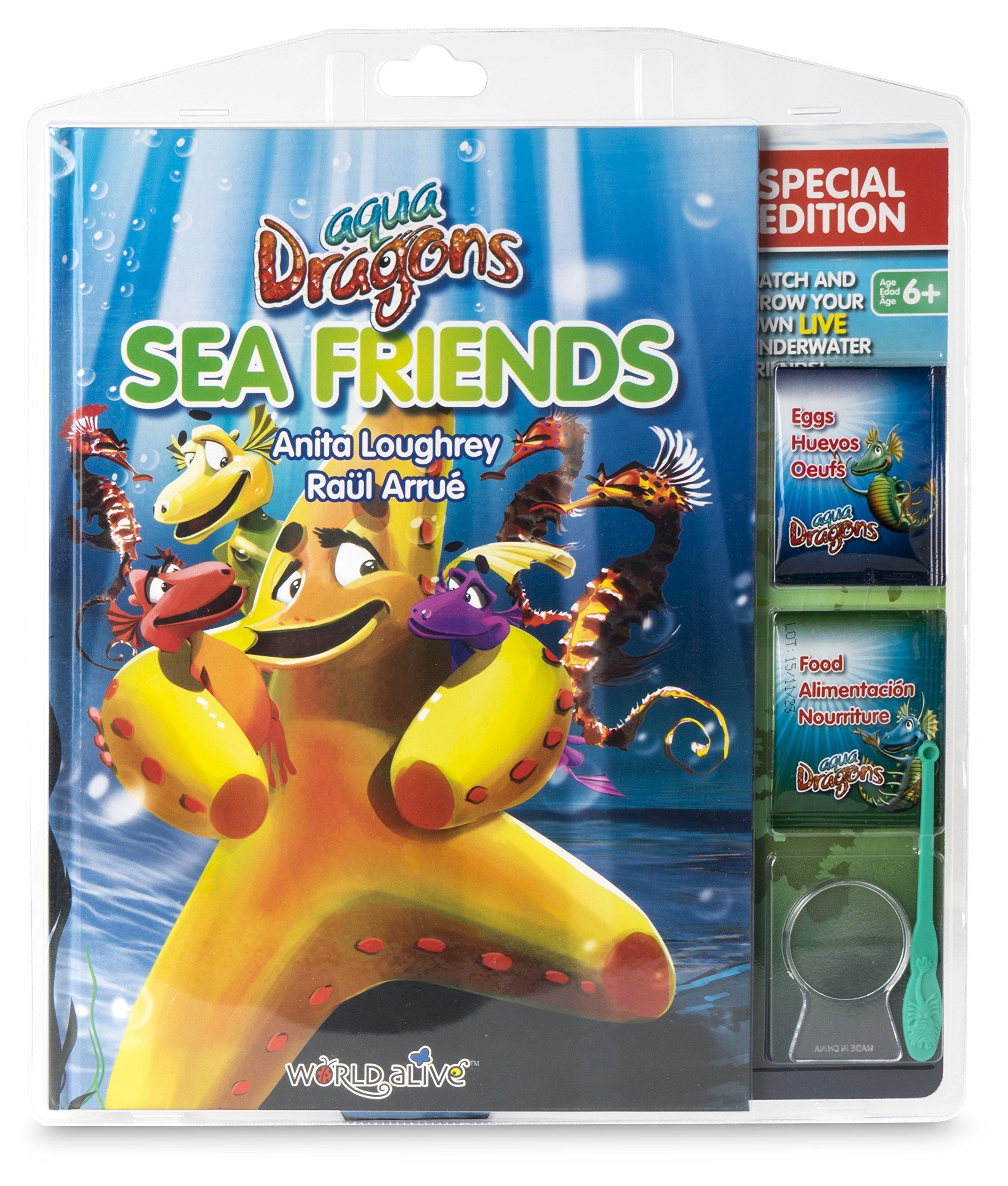 Amigos marinos, edición especial con kit de Aqua Dragons libro en inglés: Amazon.es: Anita Loughrey, Raül Arrué: Libros