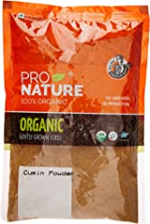 Pro Nature 100% Organic Cumin Powder, 250g