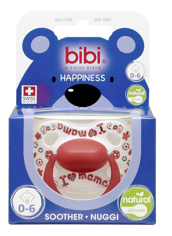 Bibi Swiss 2 x Chupetes de felicidad chupetes chupetes con tetina Tatuajes