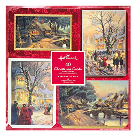Amazon Hallmark Christmas Cards With Envelopes 4 Design 40