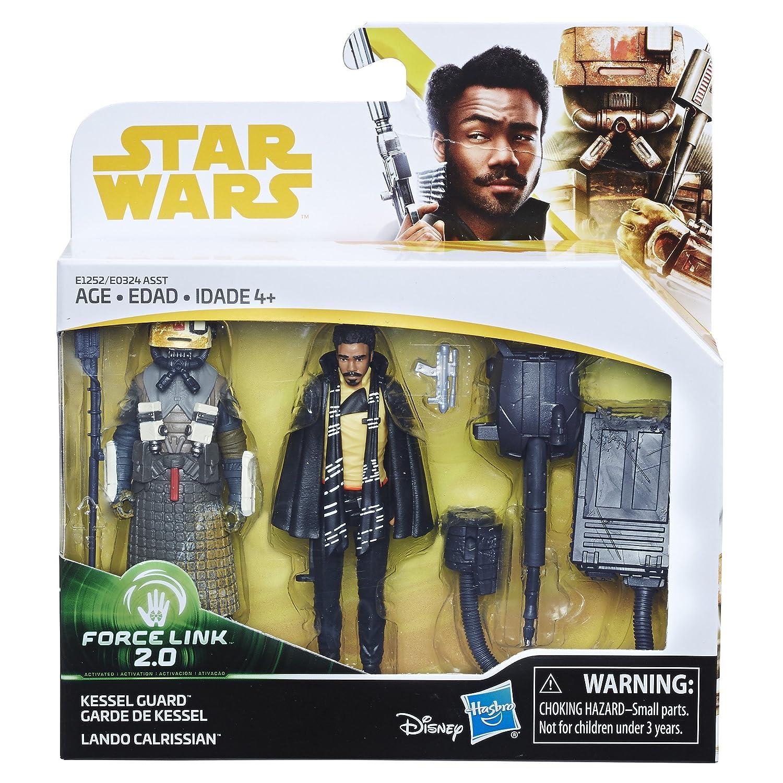 Amazon.com: Star Wars Force Link 2.0 Lando Calrissian & Kessel Guard ...