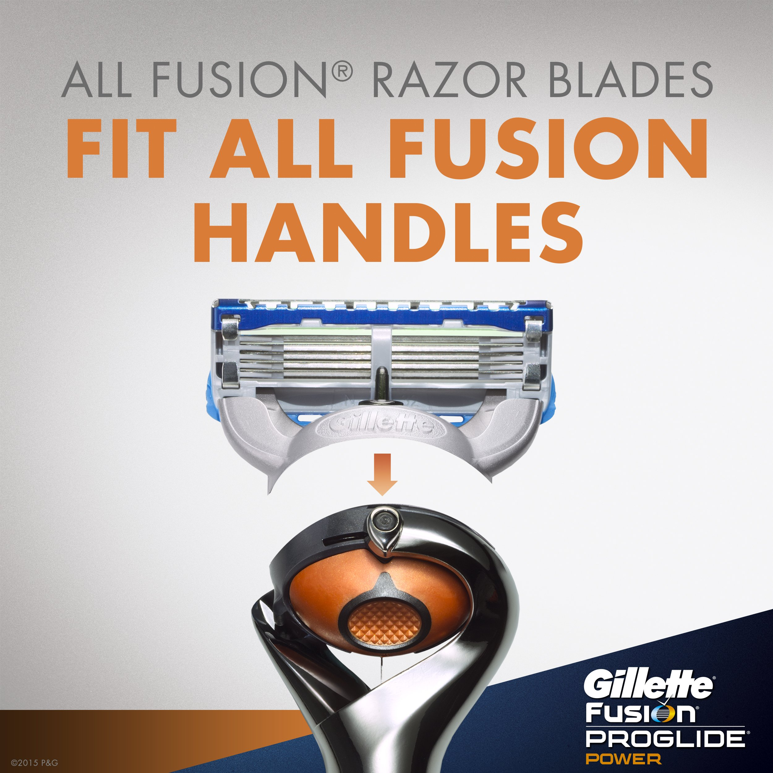 Gillette Fusion Proglide Power Men S Razor Blade Refills