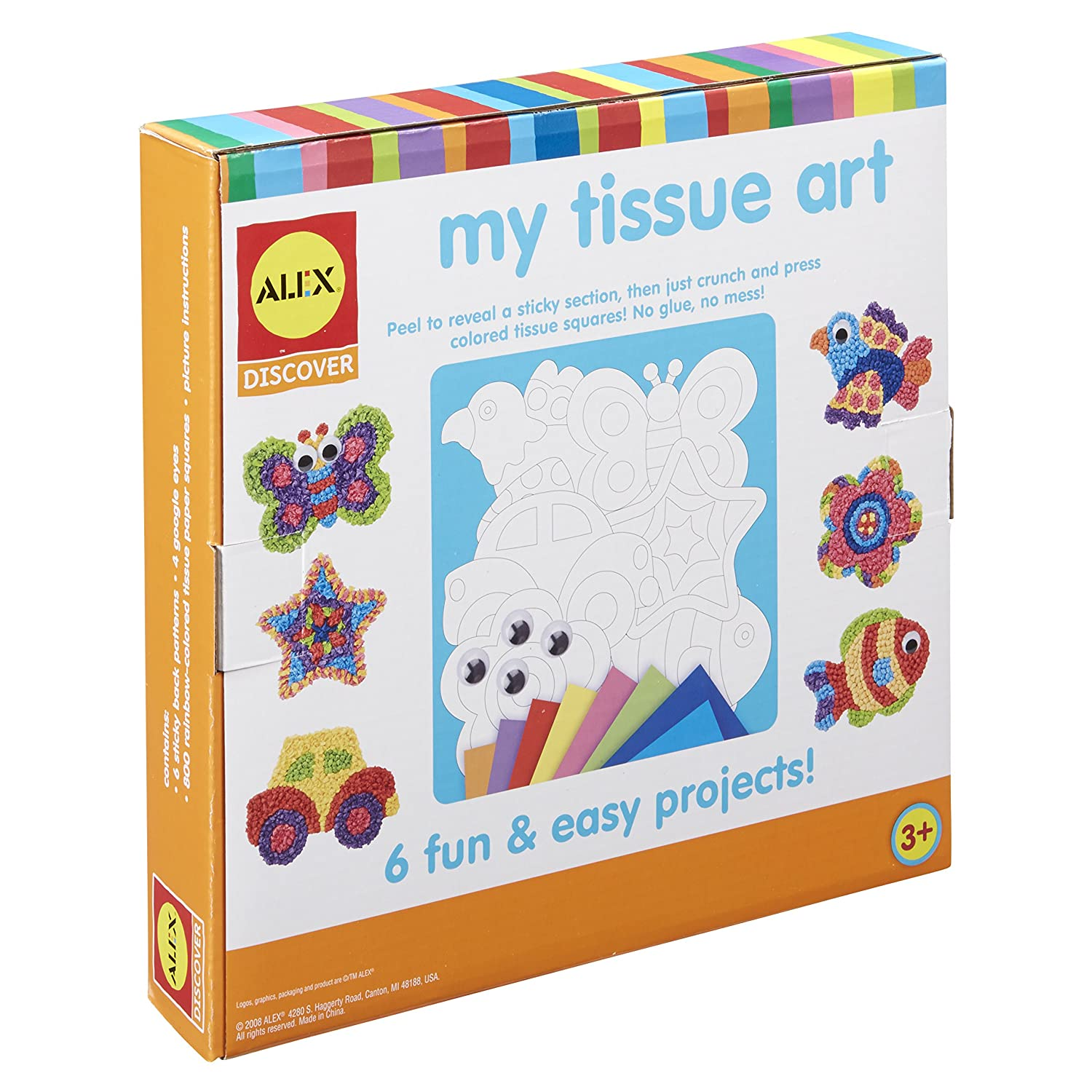 Buy Alex Toys My Tissue Art Online At Low Prices In India