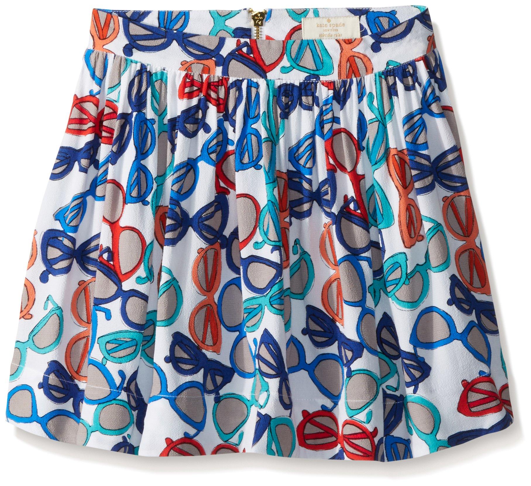 Kate Spade New York Little Girls' coreen Skirt (Toddler/Kid) - Sunglass Print - 6