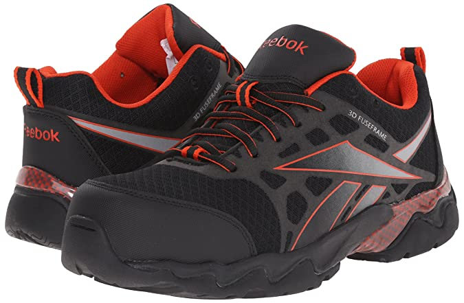 4f6ba109811f Amazon.com  Reebok Work Men s Beamer RB1061 ESD Athletic Safety Shoe  Shoes