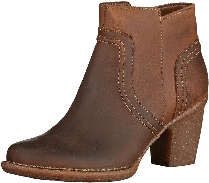 be4fc5b51fd3a7 Clarks Carleta Paris 261204034 Femmes Marron Cuir Bottine, EU 39,5:  Amazon.fr: Chaussures et Sacs