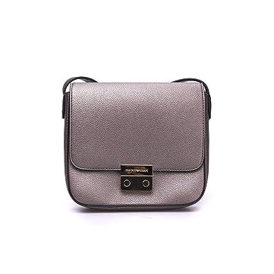 Sac Cross Emporio Armani Argent Texturé Body Silver Borsa Leather 8On0NkwPX