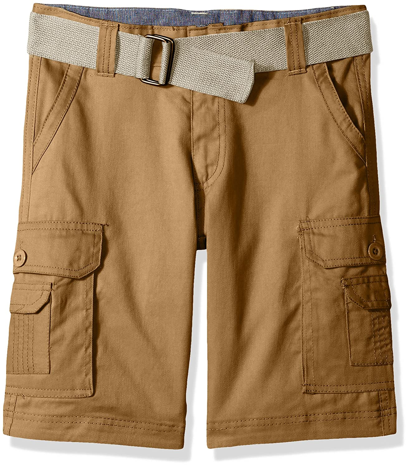 Beverly Hills Polo Club Boys' Belted Shorts