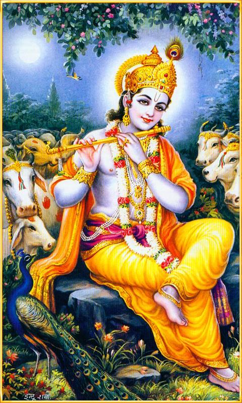 Amazon Com Sri Krishna God Live Wallpaper Apps Games