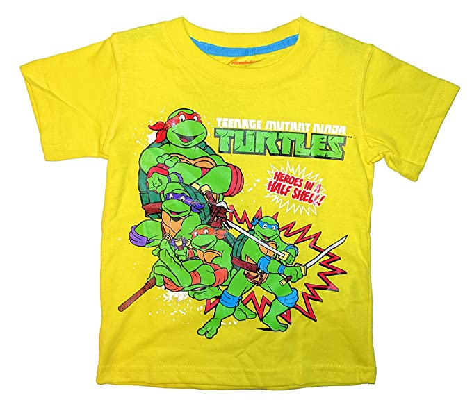 Amazon.com: Nickelodeon TMNT Little Toddler Boys Heros in a ...