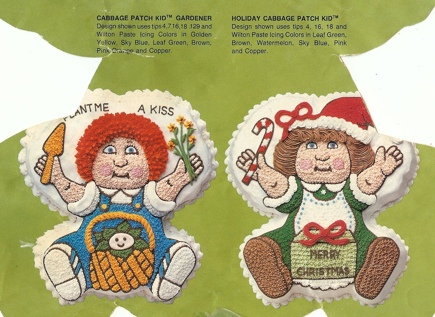 Wilton Cake Pan: Cabbage Patch Kids Baby Doll Dolly Cake Pan Mold (2105-1984, 1984) Retired