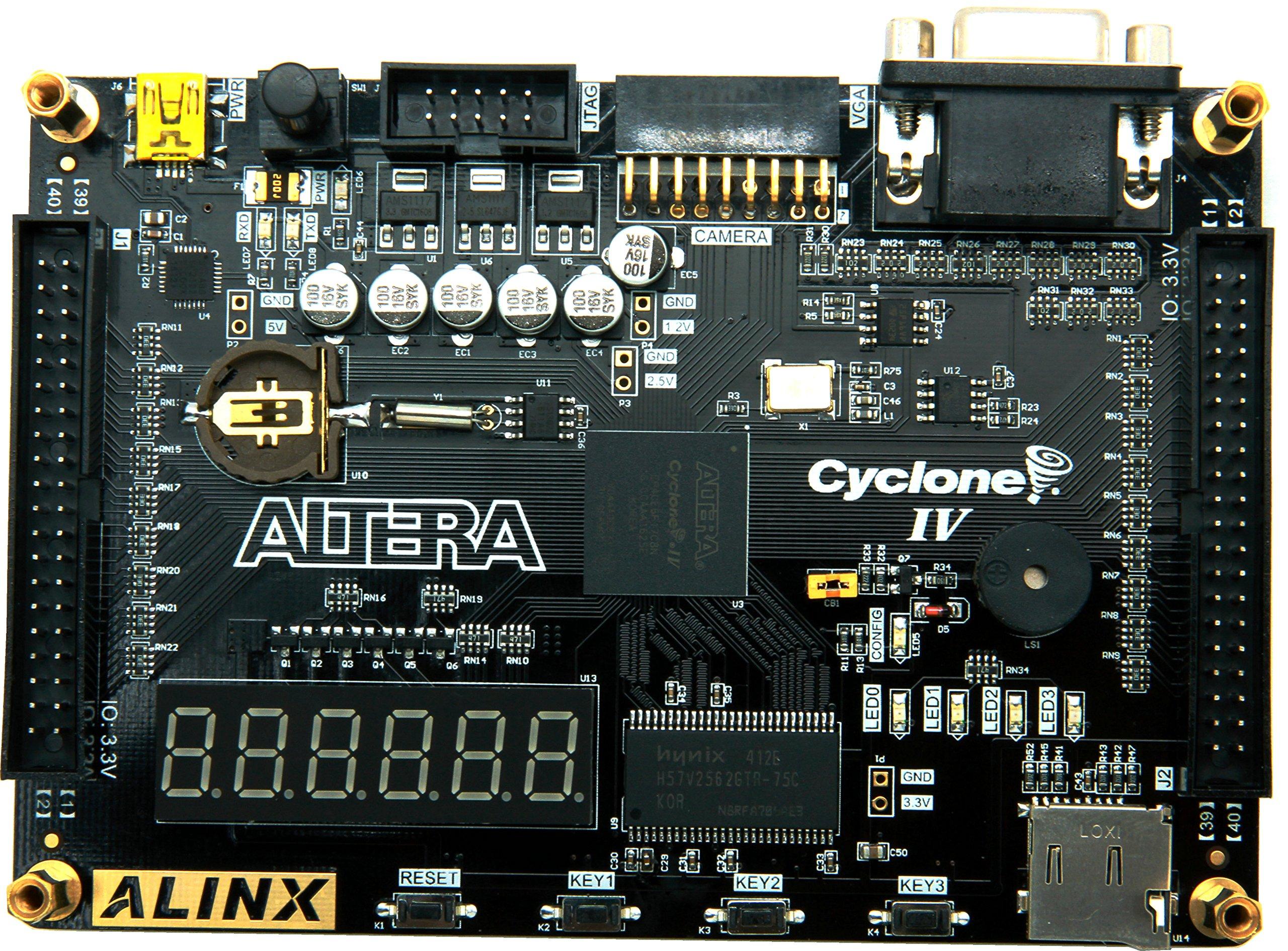 ALINX ALTERA FPGA Development Board NIOS EP4CE6 Study Board USB Cable AX301C