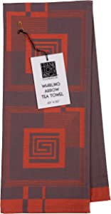 KAF Home Frank Lloyd Wright Woven Jacquard Tea Towel 20 x 30-inch 100-Percent Cotton (Whirling Arrow)