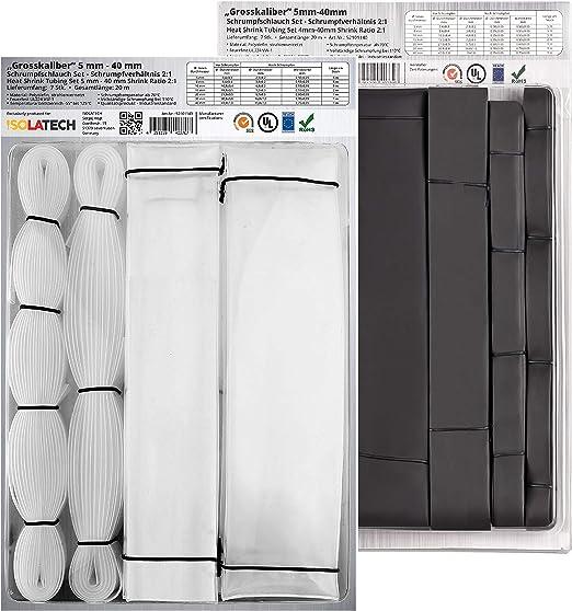 here: /Ø3mm - 1 meter ISO-PROFI/® 2:1/Gaine thermor/étractable S/électionen 10/tailles et 6/longueurs M/ètre transparent