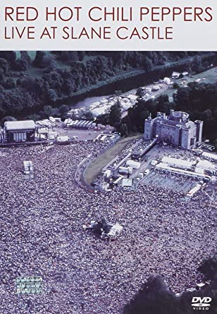 red hot chili peppers live at slane castle dvd