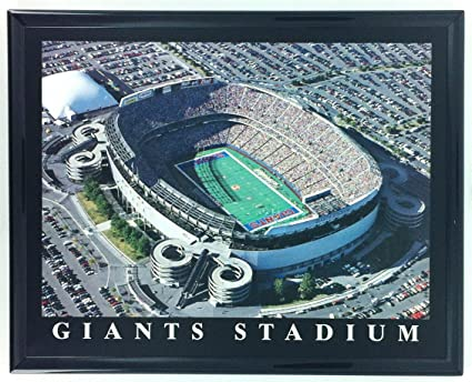 new arrivals 4694c b8cde Amazon.com: Framed Football New York Giants Stadium Aerial ...