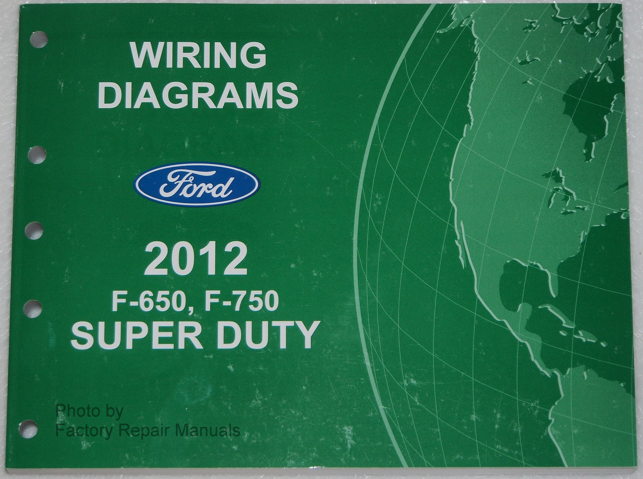 Ford F750 Wiring Diagram Electrical 2007 F250 V10 Transmission 2012 F650 Motor Company Amazon Com Books