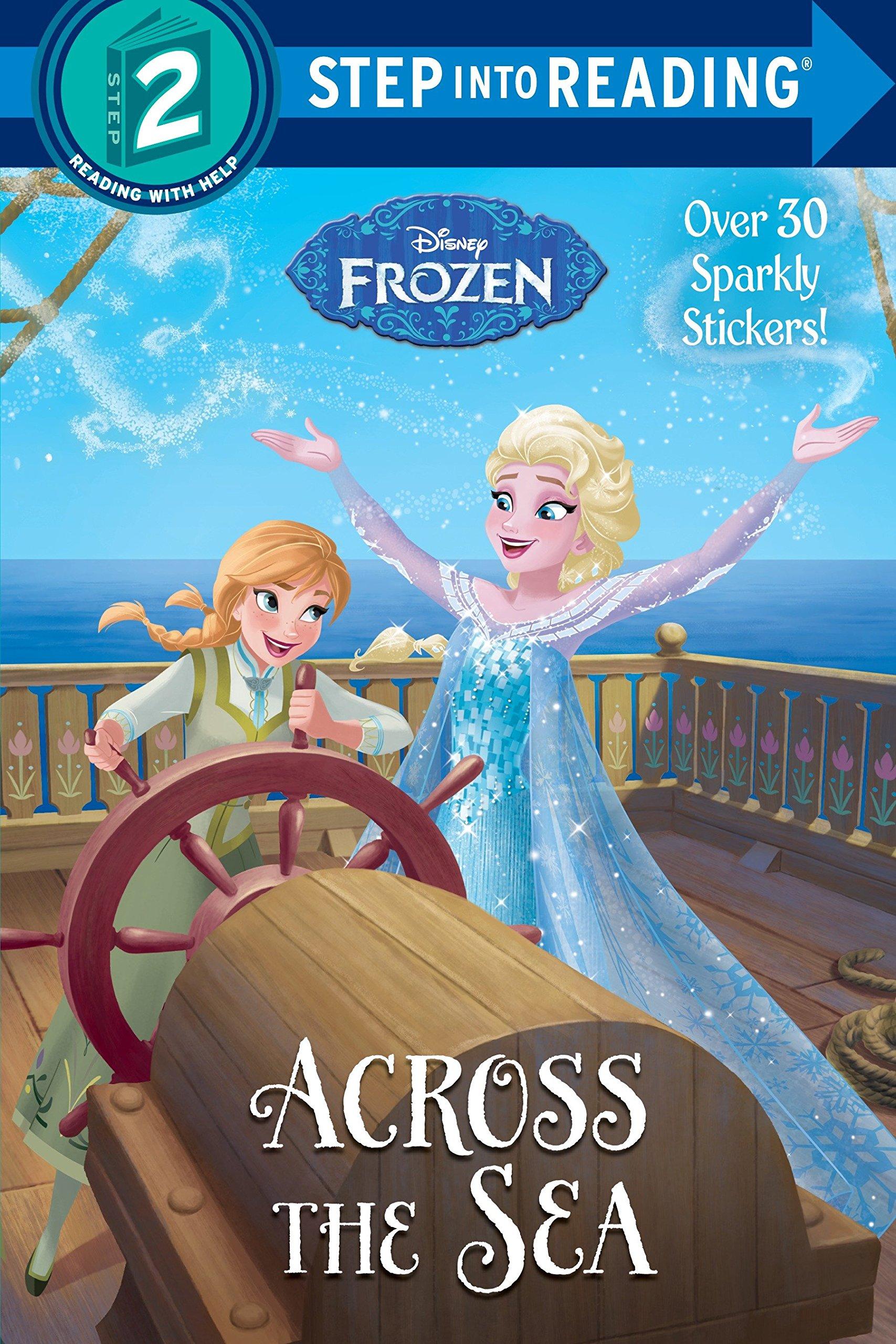 Amazon.com: Across the Sea (Disney Frozen) (Step into Reading ...