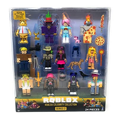 Roblox Series 2 Roblox Celebrity Collection 24 Piece Set: Toys & Games
