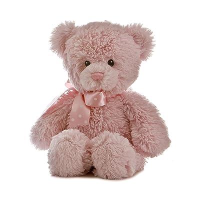 "Aurora Plush Baby 12"" Yummy Pink Bear - 20507: Toys & Games"