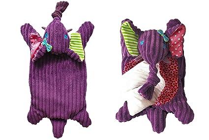 Les Deglingos Bouillotte à Graine Micro-Ondable Sandykilos l'Eléphant