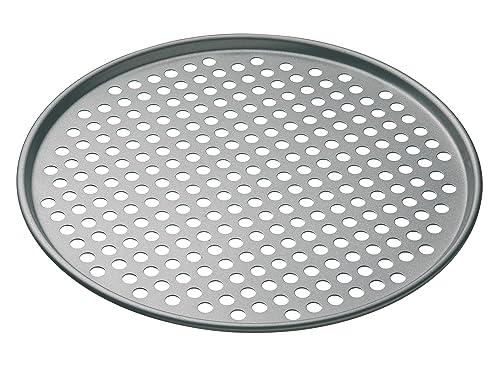 Kitchen Craft MasterClass Non Stick Pizza Crisper Tray for Oven, 32 cm