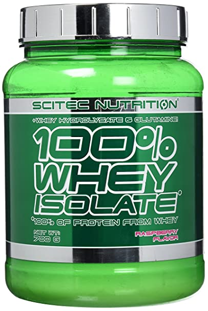 978ad1473 Scitec Nutrition Whey Isolate proteína frambuesa 700 g  Amazon.es ...