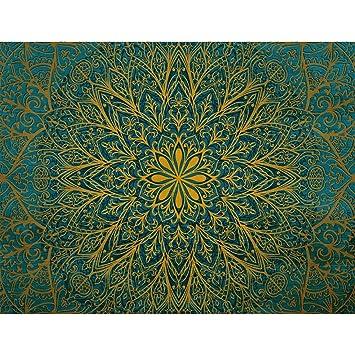 Fototapeten Mandala 352 X 250 Cm Vlies Wand Tapete Wohnzimmer