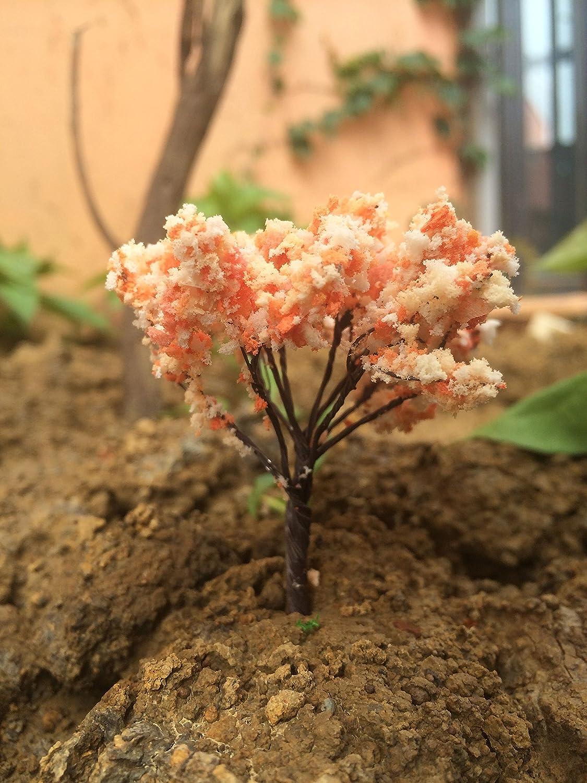 Miniature Dollhouse Pots Decor Moss Bonsai Micro Landscape DIY Craft Garden Ornament BeautyMood 10Pcs Miniature Fairy Garden Tree Plant Ornamentm