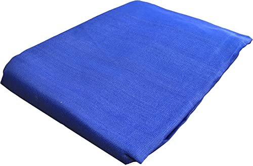EZ Travel Collection Fence Privacy Screen Windscreen Shade Cover Mesh Sun Shade Blue 50'x50'