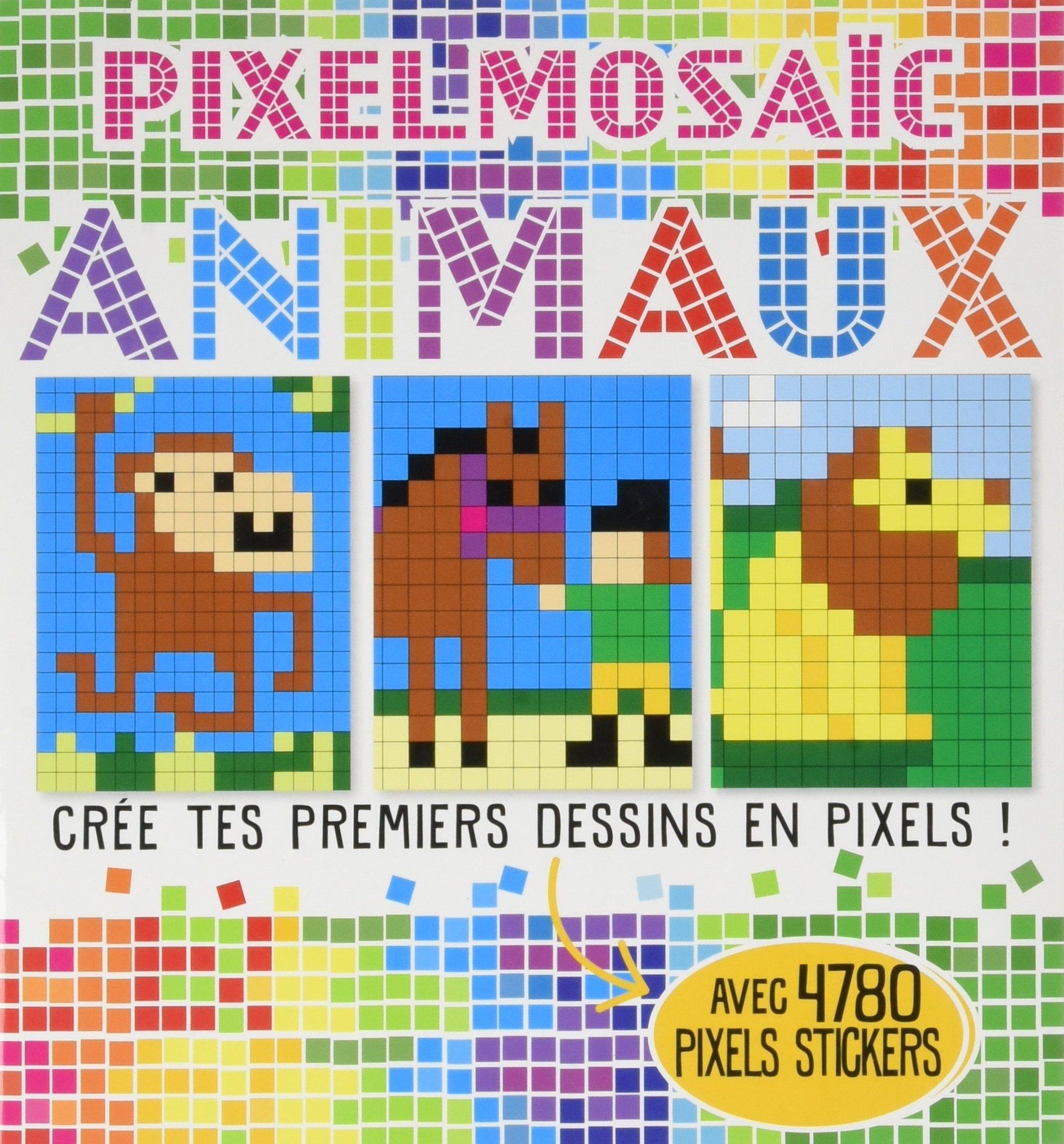Animaux Crée Tes Premiers Dessins En Pixels Elizabeth