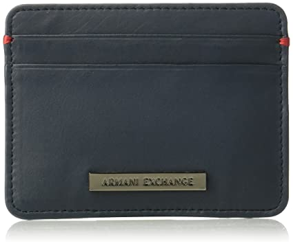 designer fashion c641a 2292e Armani Exchange Men's Two Card Holder